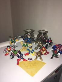 Bundle of marvel figures by playskool SOLD
