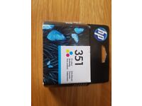 HP 351 Ink Cartridge, Tri-Colour, Single Pack