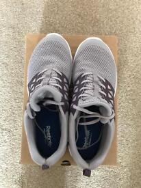Reebok ladies running trainers - worn once - size 8.5