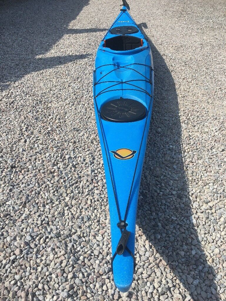 Easky 15ft LV sea-touring kayak with rudder fitted | in Torpoint, Cornwall  | Gumtree