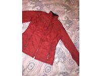 Barbour jacket. size 10