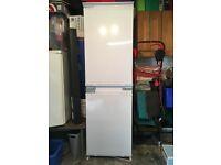 Integrated fridge freezer for kitchen units