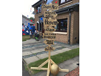Harry Potter Theme Gala Day House Decorations
