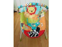 Bright starts bouncer chair, £5