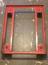 Steel Flat Bed Dolly (68cm x 53cm)