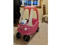 ** Mint Condition Little Tikes Cozy Coupe - Rosy (Only used a couple of times and indoors)**