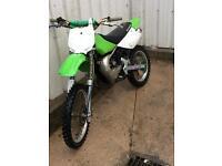Kawasaki kx100