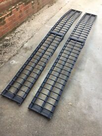 LOADING RAMPS ALUMINIUM EXCELLENT CONDITION