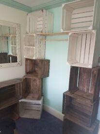 12 original applewood crates