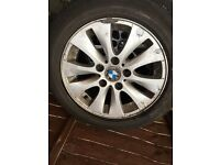 Bmw 1 series Wheels with tyres absolutely free