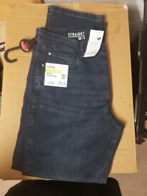 Pair of Jeans - 36 inch waist, 30 inch leg. New with tags.