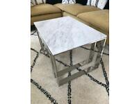 Marble tables