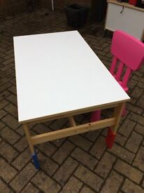 IKEA child's table & chair