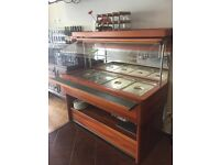 Salad bar- Great working condition with containers
