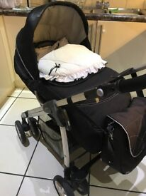 Silver cross pram in great condition.