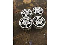 """17"""" BMW m sport alloy wheels"""