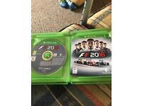 Swap F1 2016 for Fifa 17 Xbox 1