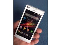 Sony Xperia L UNLOCKED 4.3 inch excellent condition like NEW + case