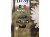 Epson Genuine 18 ink cartridges