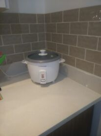 Cookwork slowcooker and rice cooker