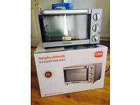 Morphy Richards Mini Oven, microwave n kettle