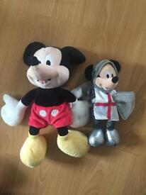 Mickey Mouse soft toys