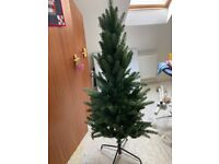 Compact artificial Christmas tree