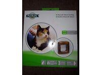 Cat flap £10 and Feliway diffuser £5.