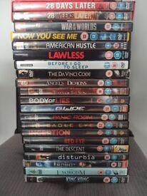 DVD Bundle (21 Movies)
