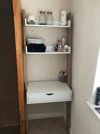 White Argos ladder desk