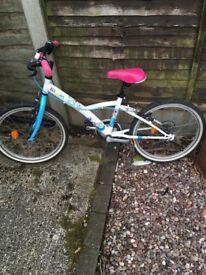 Decathlon Misti girl bike suit 4-8 years old