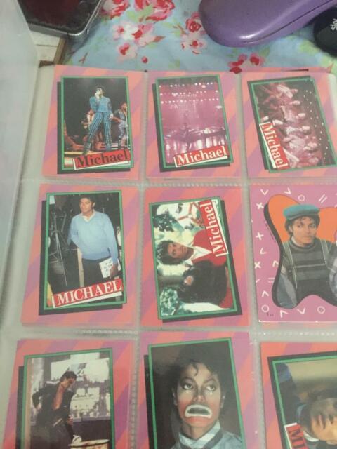 Michael Jackson Trading Cards In North Petherton Somerset Gumtree