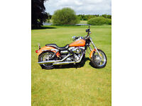 Harley Custom Orange