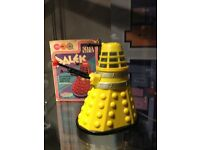 Doctor Who Toys - Wanted by Collector - Doctors, Daleks, Cyberman, Collections. Cash Paid