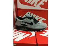 Air max 90s available in different colours and sizes