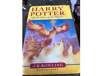 Two Harry Potter 1st Editions in Lovely Condition