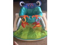 Fisher Price Sit me up feeding chair