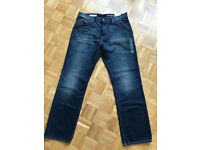 "GAP men's blue jeans 36"" x 34"" brand new with labels"