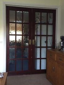French wooden doors