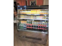 EVO 1200 Self Service Low Level Multideck Patisserie Display Fridge for Cafe