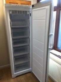 FROST FREE UPWRIGHT HOTPOINT FREEZER IN GOOD WORKING CONDITION