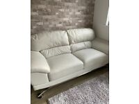 3 & 2 Seater blended leather Suites