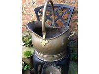 Old coal bucket