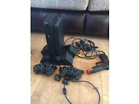 PS2 + controllers + 43 games