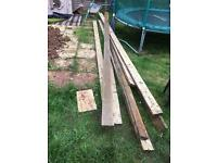 Decking and timber £50