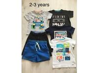 Clothes bundle (boys size 2-3 years)