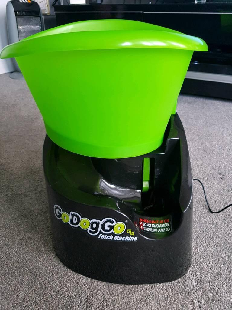 godoggo fetch machine automatic ball thrower in falkirk gumtree