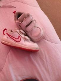 Toddlers trainers and soft shoes