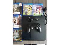 PS4 + 5 GAMES