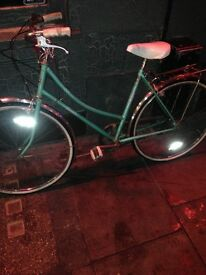 Beautiful vintage bike working fully